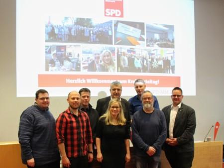 Die Mitglieder des Vorstandes des SPD-Kreisverbandes MSE.